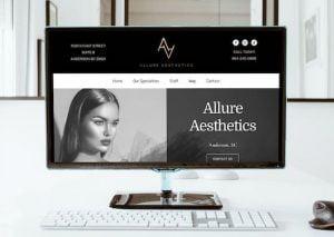 anderson sc web design client