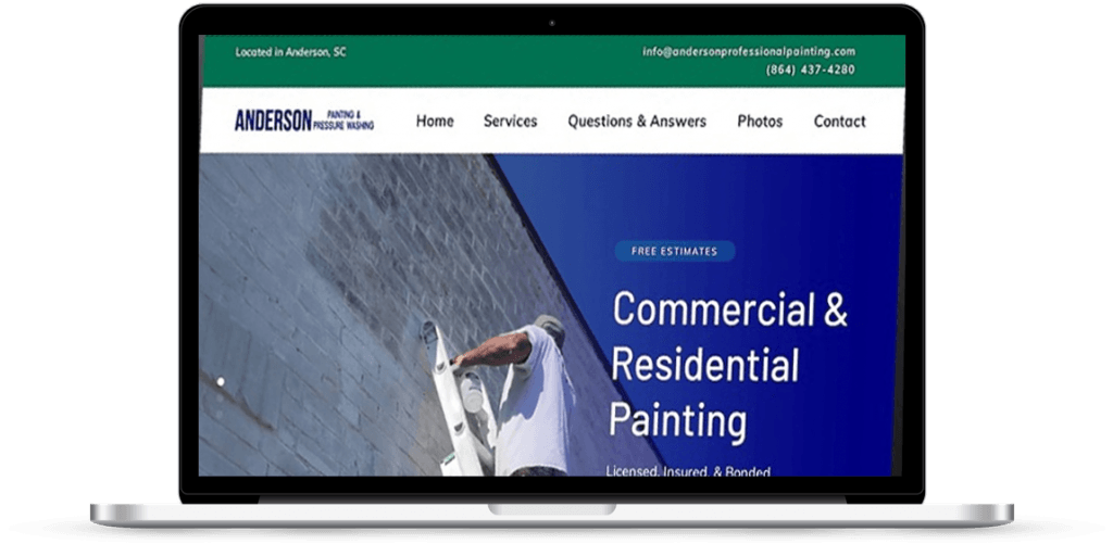 anderson sc painting website