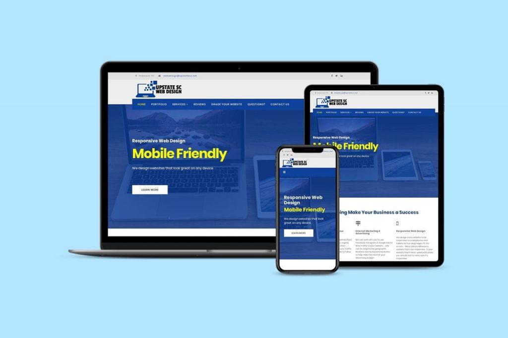 responsive web design anderson sc