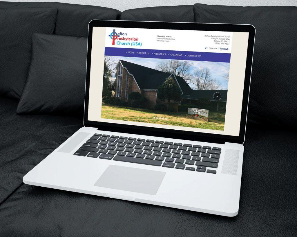belton sc website design