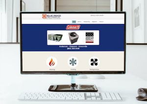 blue ridge clemson sc web design