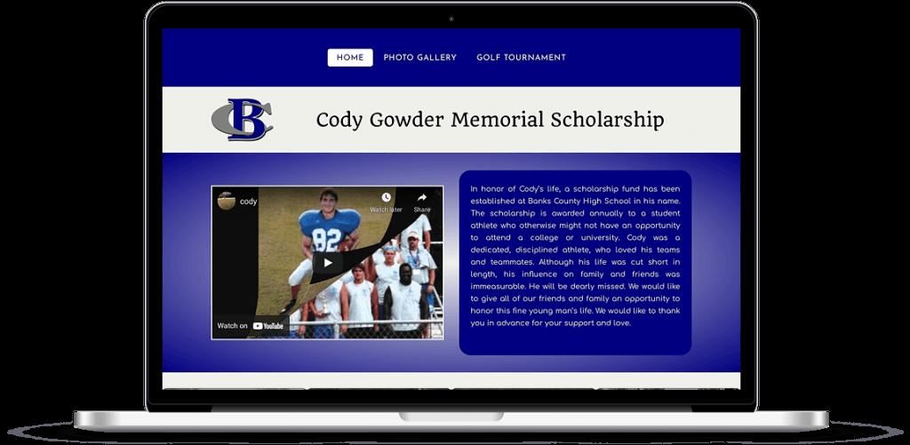 cody gowder scholarship homer georgia