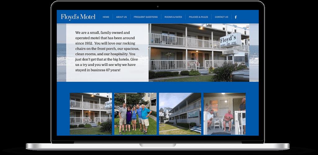 Floyds Motel Web Design Myrtle Beach SC