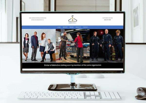 js uniforms greenville sc web design