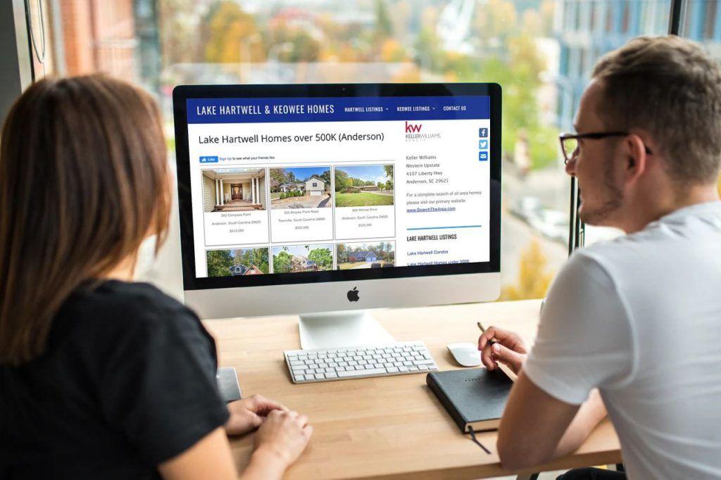 lake hartwell web design