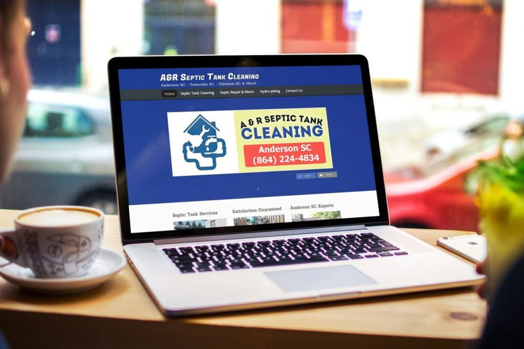 wordpress business websites anderson sc