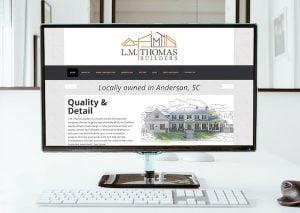 LM Thomas Builders Website