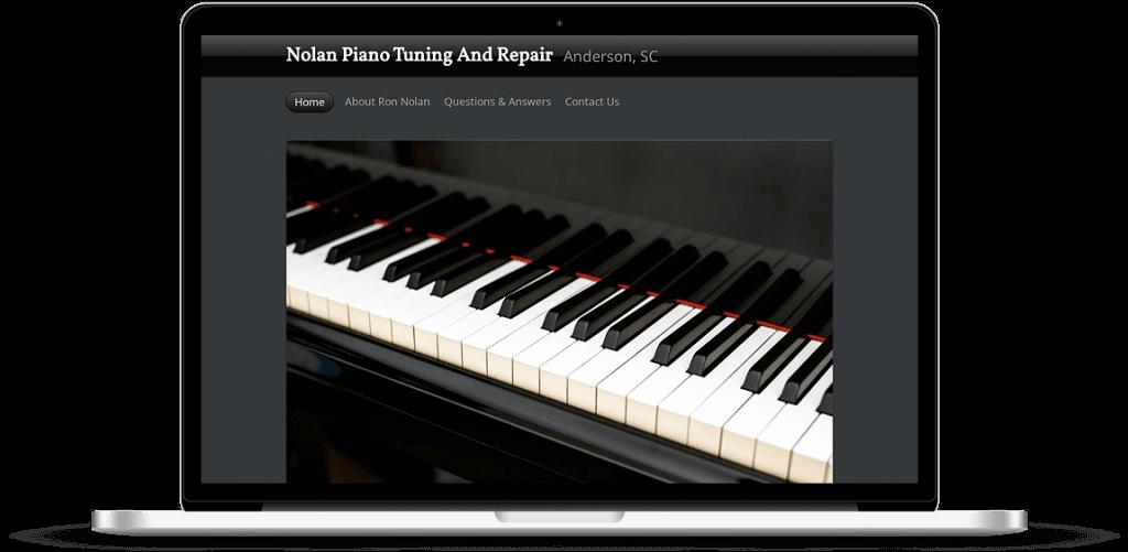 piano tuning website anderson sc