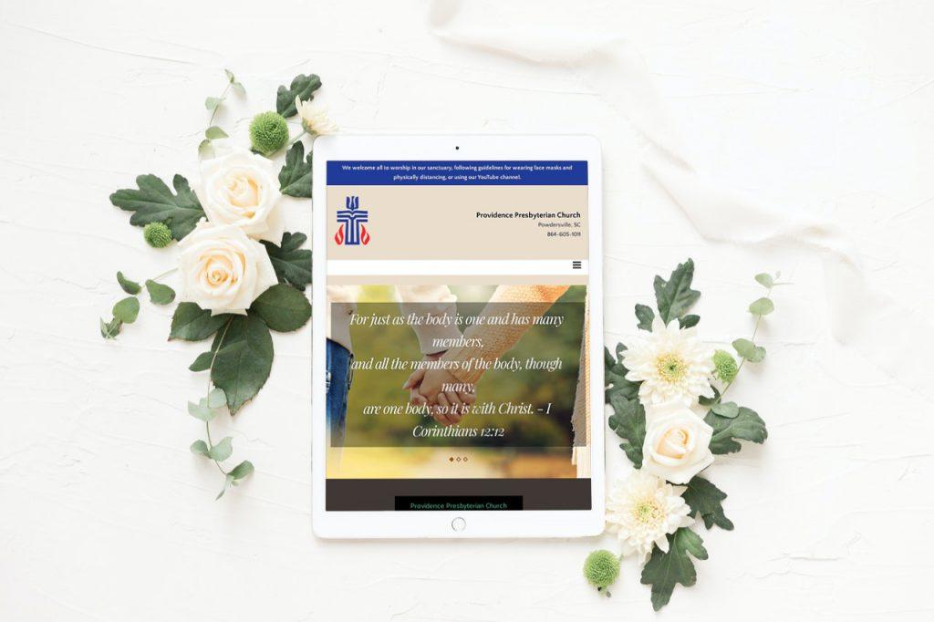 Easley SC Website Design