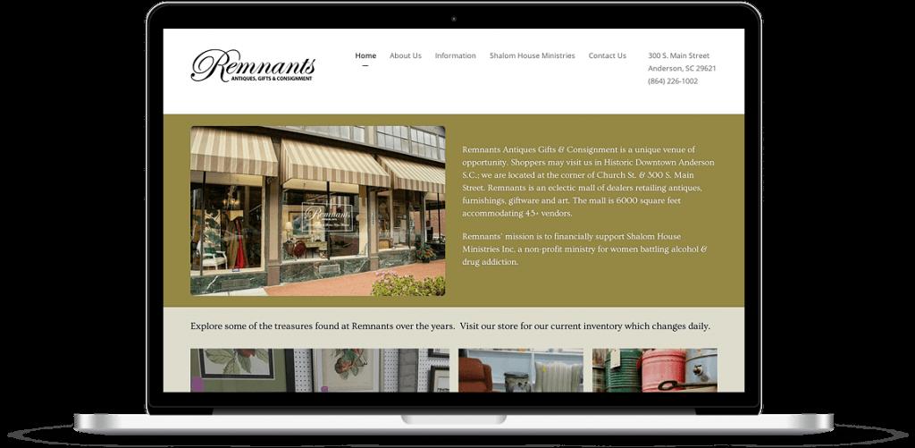 remnants antiques anderson sc website