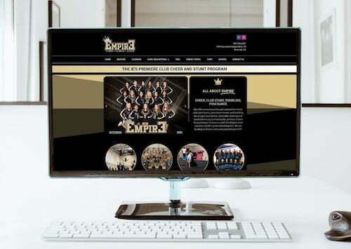 riverside ca web design empire stunt
