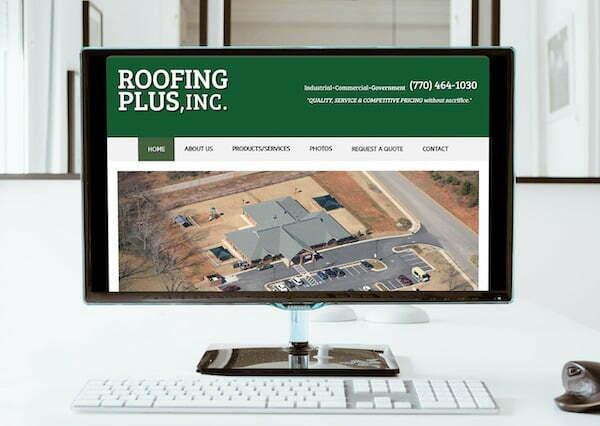 roofing plus atlanta ga website