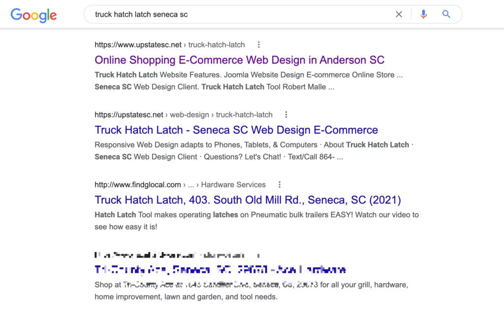 search engine optimization seneca sc