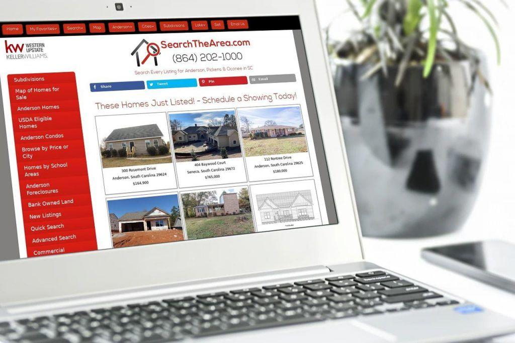 business websites anderson sc