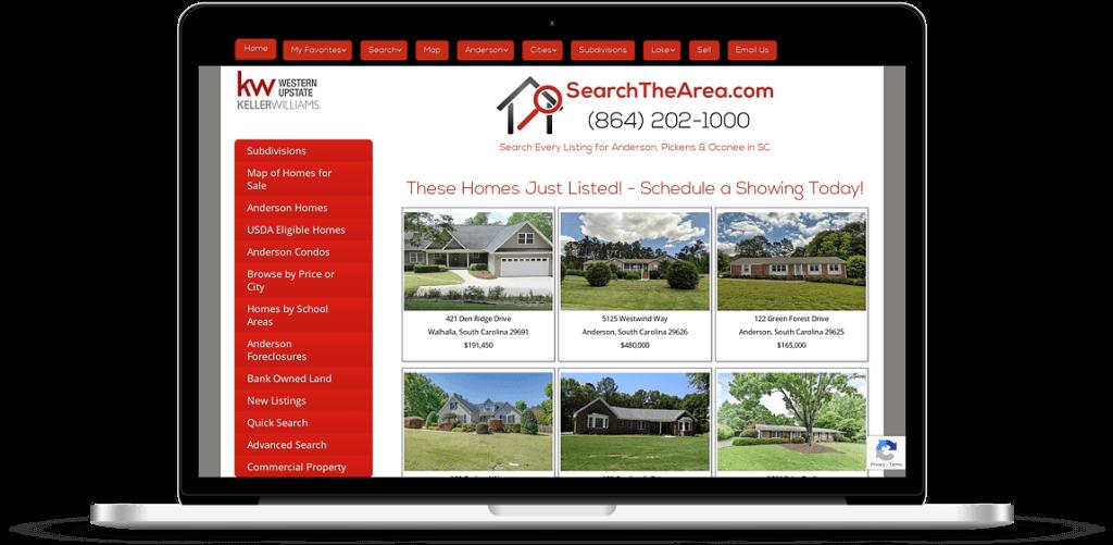 search anderson sc web design