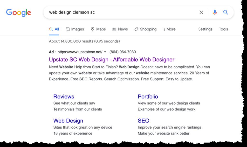 search engine optimization clemson sc seo
