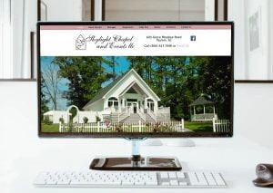 skylight chapel web design client
