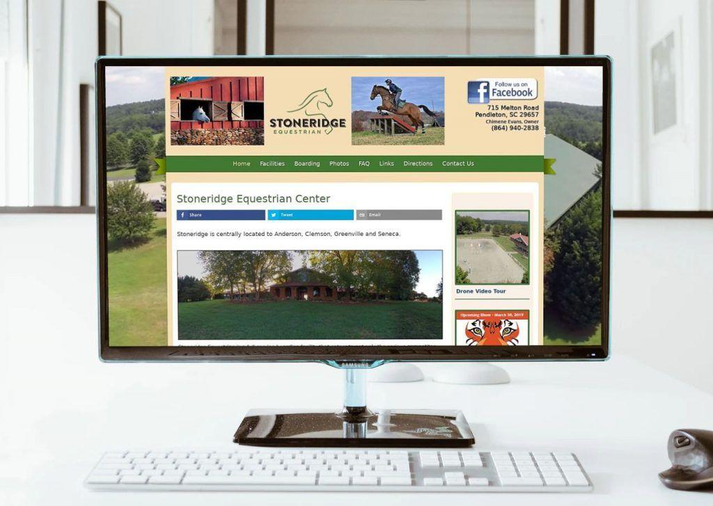 web design pendleton sc