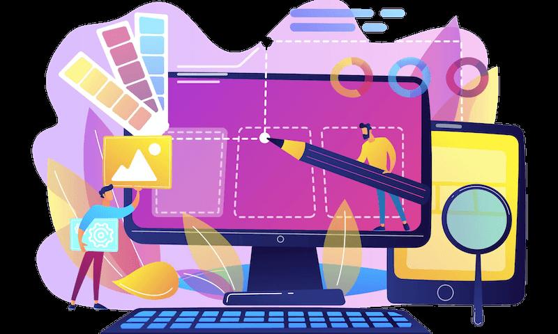 web customer portfolio