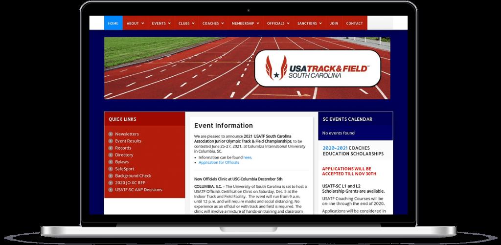 usatfsc website design