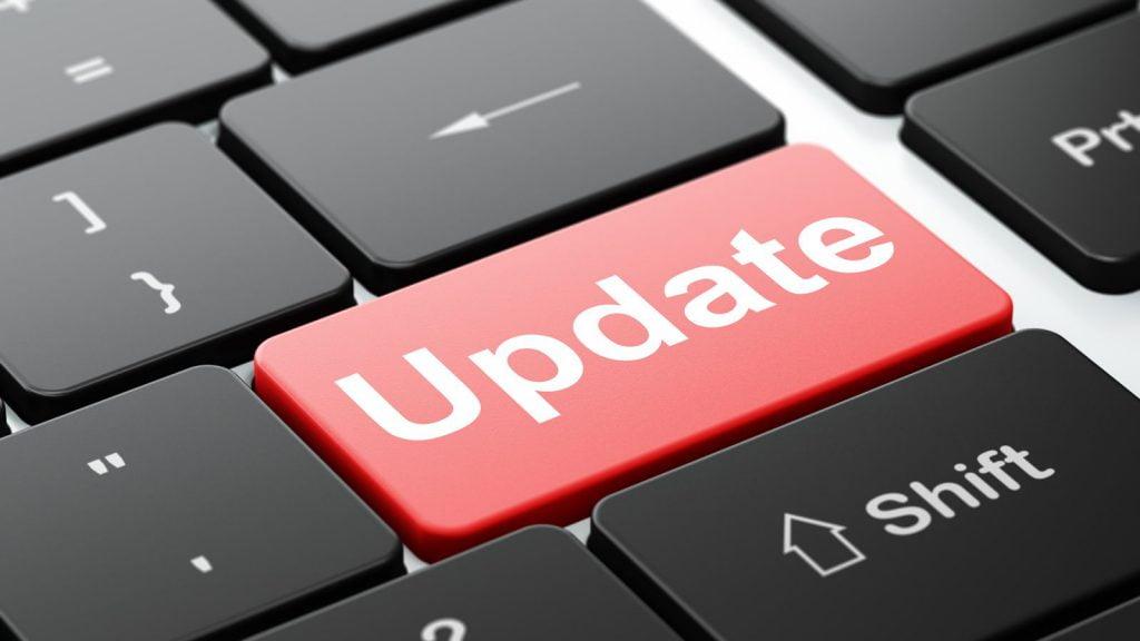 website updates anderson
