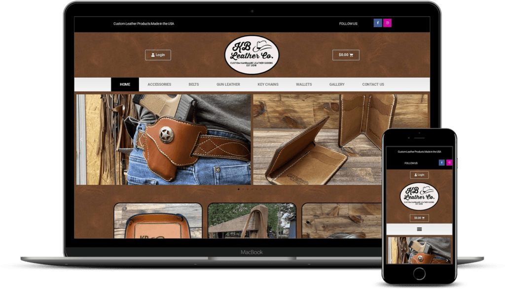 ecommerce web design anderson sc