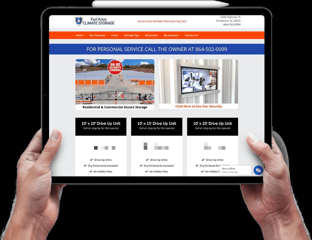 fort knox pendleton web design