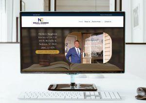 baughman law web design anderson sc